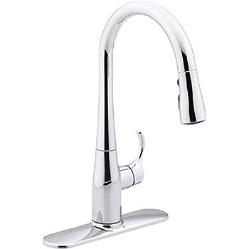 Kohler K 597 Cp Simplice Kitchen Faucet One Size Touch