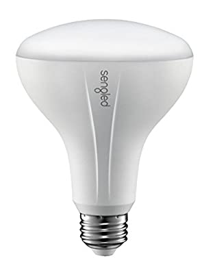 Sengled Element BR30 Smart LED Bulb Zigbee Dimmable 60W Equivalent Soft White, Compatible with Samsung SmartThings and Wink Hub, Requires Hub for Alexa