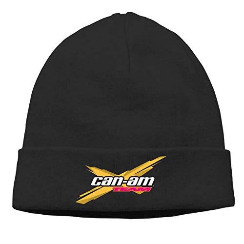 (JKSJAN Can Am Spyder Roadster Snowmobile Men's and Women's Universal Thin Hedging Cap Black)