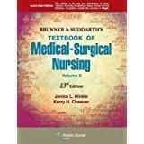 Brunner & Suddarth's Textbook of Medical-surgical Nursing Vol-2