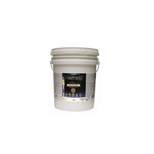 true value mfg company waesg9-5g WAESG9, True Value, Premium Weatherall Extreme, Paint/Primer In One, 5 Gallon, White, Semi-Gloss by True Value Hardware
