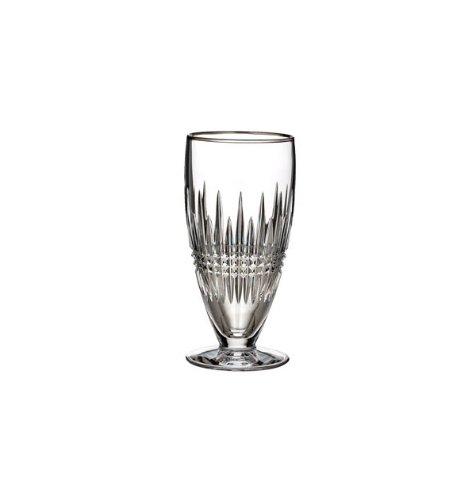 WATERFORD Lismore Diamond Platinum Iced beverage (Waterford Crystal Iced Beverage Glass)