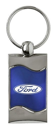Ford Keychain /& Keyring Blue Wave