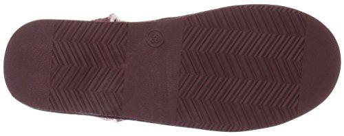 Canadians Boots, Botines para Mujer Rojo - Rot (840 BORDEAUX)