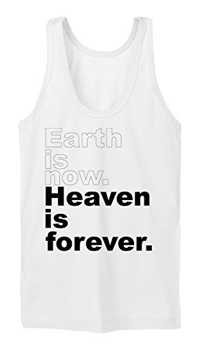 Earth Is Now Heaven Is Forever Tanktop Girls Blanc