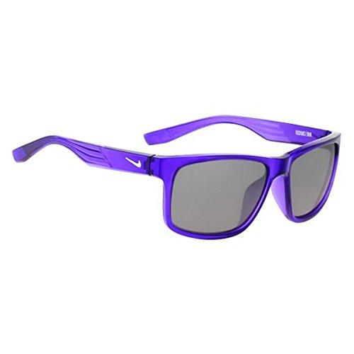 Nike Men's Cruiser EV0956, Purple/White/Grey - Kids Nike Sunglasses
