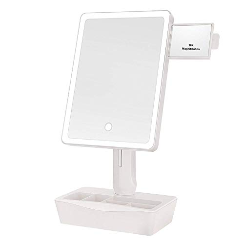 GROWRICH Lighted Makeup Mirror,with (2.9