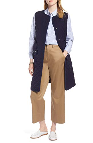 1901 Long Quilted Vest ロングキルトベスト (並行輸入品)