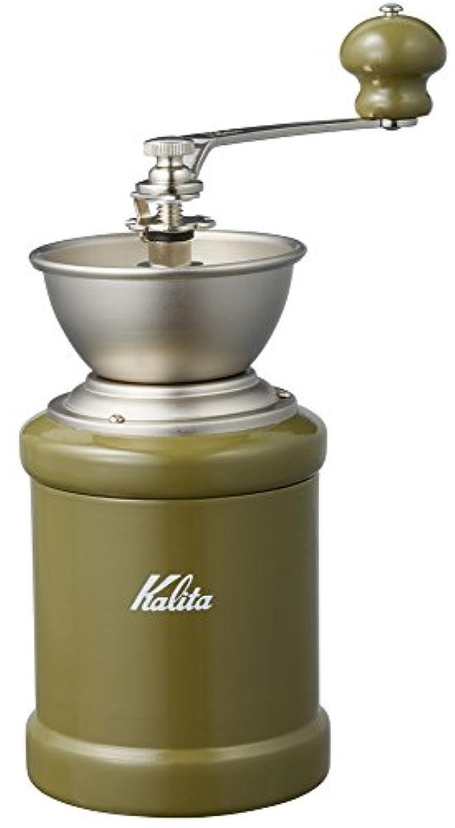[해외] 칼리퍼터 KALITA 커피 밀 손만 와 KH-3C 아미그린 42128