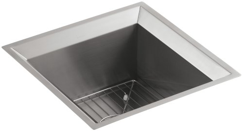 KOHLER K-3161-NA Poise Undercounter Entertainment Sink (Double Bowl Entertainment Sink)