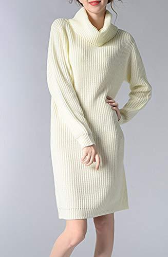 Maglione Dissa Bianco Donna Manica Lunga FRxdqRgw