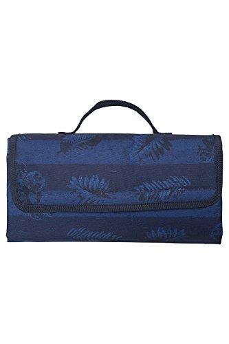 Mountain Warehouse Picknickmatte - Gemustert Blau
