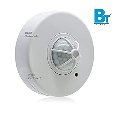 Blackt electrotech 360 degree ceiling mounted occupancy sensor time blackt electrotech 360 degree ceiling mounted occupancy sensor time delay distance light and motion aloadofball Gallery