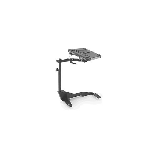 Jotto Cargo Desk Laptop Mount For - Dodge - Ram Pickup - 2009-2018 - Black