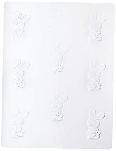 Paderno World Cuisine 8 Imprint Polypropoylene 2.5 Inch Bunny Chocolate Mold ()