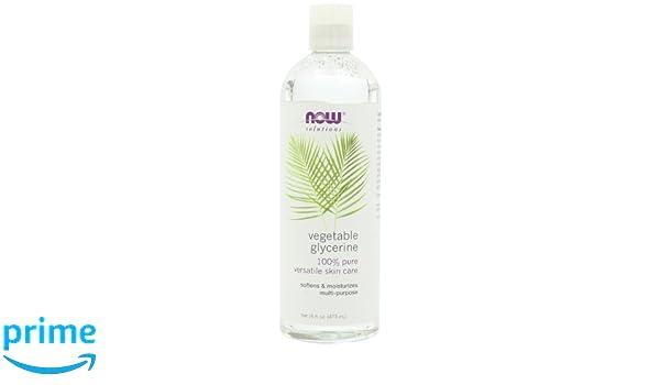 Ahora soluciones glicerina vegetal, 16-fluid onzas: Amazon.es: Salud y cuidado personal