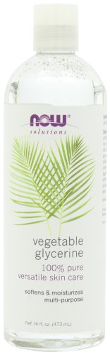 NOW Solutions Vegetable Glycerine, 16-Ounce