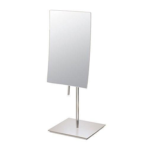 Mirror Image 82273 Minimalist Rectangular Vanity Mirror, 3X