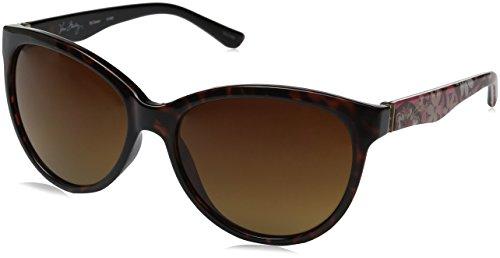 Vera Bradley Women's Carson Cateye Sunglasses, Blush Pink, 58 - Sunglasses Bradley