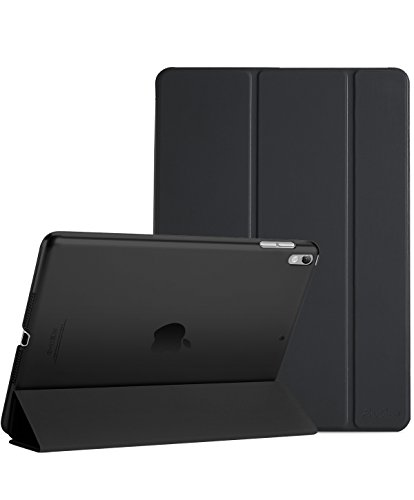 "ProCase iPad Air (3rd Gen) 10.5"" 2019 / iPad Pro 10.5"" 2017 Case, Ultra Slim Lightweight Stand Smart Case Shell with Translucent Frosted Back Cover for Apple iPad Air (3rd Gen) 10.5"" 2019 -Black"