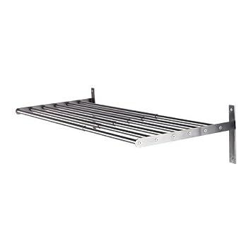 Ikea Wäscheständer ikea grundtal stainless steel wall wäscheständer 67 120 cm