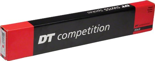 DT Swiss Competition Straight-Pull 302mm Black Spokes 2.0/1.8