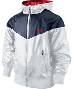 425797 De Veste Bleublanc Taille Windrunner Course Nike Jacket q0gg6F