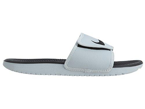 Ugg Menns Kawa Justere Sandal Hvit / Sort-hvit
