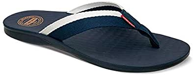 Ceyo Blue Flat Sandal For Men