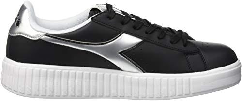 Nero Argento Step C0787 Game Nero Graphic Sneaker Donna Diadora YP1TqR