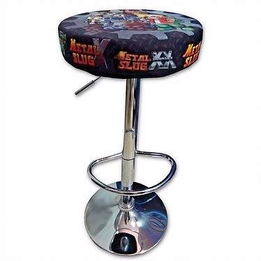 roboticaEnCasa Taburete Arcade DISEÑO Metal Slug Retro Mueble Silla