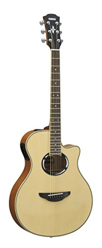 Yamaha APX500III Thinline Cutaway Acoustic-Electric Guitar, Spruce Top, Thin Body, Natural -
