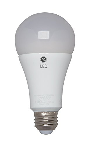GE Lighting 22711 LED 16-watt (100-watt replacement), 1600-Lumen A21 Bulb with Medium Base, Soft White, 1-Pack