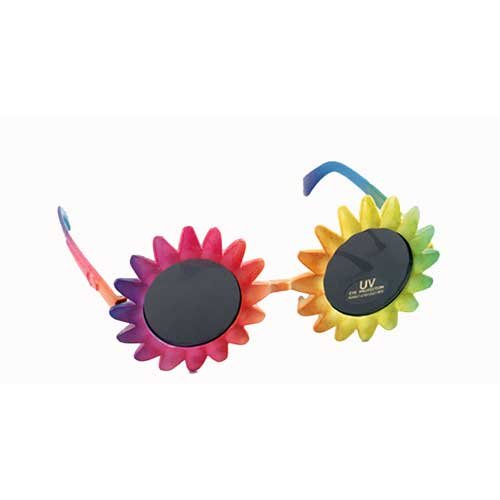Sunflower Shape Sunglasses - Sunflower Sunglasses