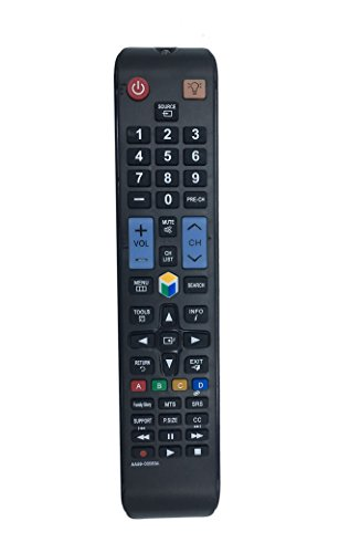 econtrolly AA59-00580A Replaced Remote for Samsung TVs UN32EH5300 UN40EH5300F UN46EH5300F UN32EH5300 UN40EH5300 UN40ES6100 UN40EH5300 UN55ES7550 UN60ES6100 UN32EH5300FXZA UN40ES6100F UN60ES6100F