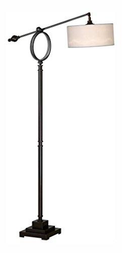 (Levisa Brushed Bronze Floor Lamp - Uttermost)