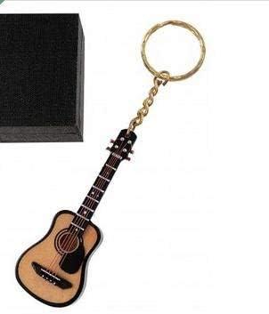 REGALOS LLUNA Llavero Miniatura Musical (Llavero Guitarra ACUSTICA ...