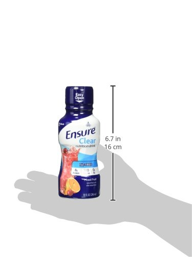 Ensure Clear Nutrition Drink, Mixed Fruit, 10oz, 12 count