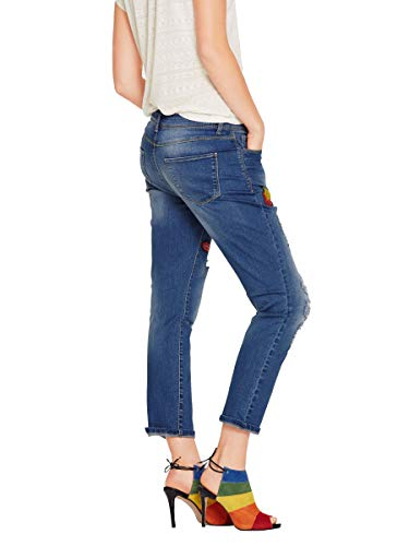 Blaublue Connections Bleu Best Stone Jeans Bleu Heine Pierre Femme 5nXqnT