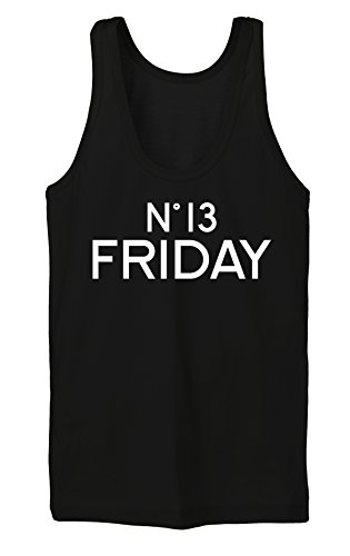 Nr. 13 Friday Tanktop Girls Noir