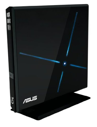 ASUS USB 2.0 6xBlu-Ray Combo External Optical Drive SBC-06D1S-U (Black)