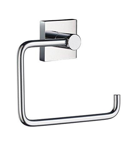 Smedbo Chrome Holder - Smedbo SME RK341 Toilet Roll Euro Holder Without Lid, Polished Chrome,