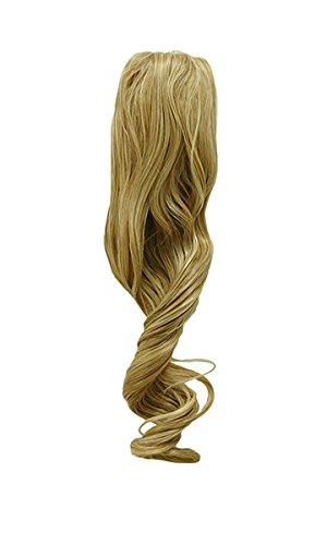 Tressecret Synthetic Ponytail, Ginger Blonde 25, 22 Inch (Long Ginger Wig)