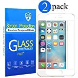 [2 Pack] iPhone 6s Plus Screen Protector, Auto Defend [Full Screen Anti-scratch][0.2mm Ultra Thin] [Bubble Free] Tempered...
