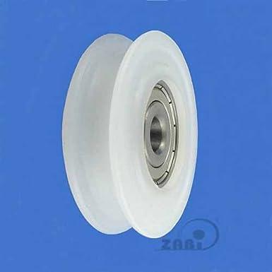 ZAB-S C71//20LL Profil Kunststoffrolle mit Kugellager f/ür Seil Polyamid /Ø71-/Ø200 Rollen C71//20LL