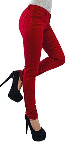 Taglia Red Jeans 54 A Elasticizzati Donna Skinny 36 Leggins Tipo Pantaloni Modello Da awAFqnnS