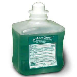 DEB Aero Green Antibacterial Foam Soap with Triclosan - 1-Liter Cartridges 1 Case #DEB 57250BD by Unknown