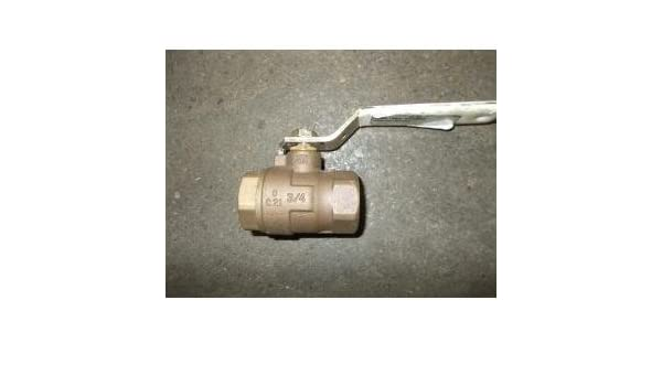 "ULTRA PURE 3//4/""  Brass Ball Valve F-3"
