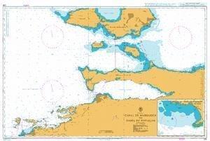 Ba Diagramm 230  Canal de Margarita zu Bahia de pozuelos von UNITED KINGDOM Hydrographic Büro