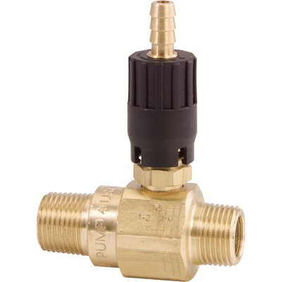 General Pump Quick Connect Pressure Washer Detergent Injector - 2.1mm Orifice, 4500 PSI, Model Number N100812P
